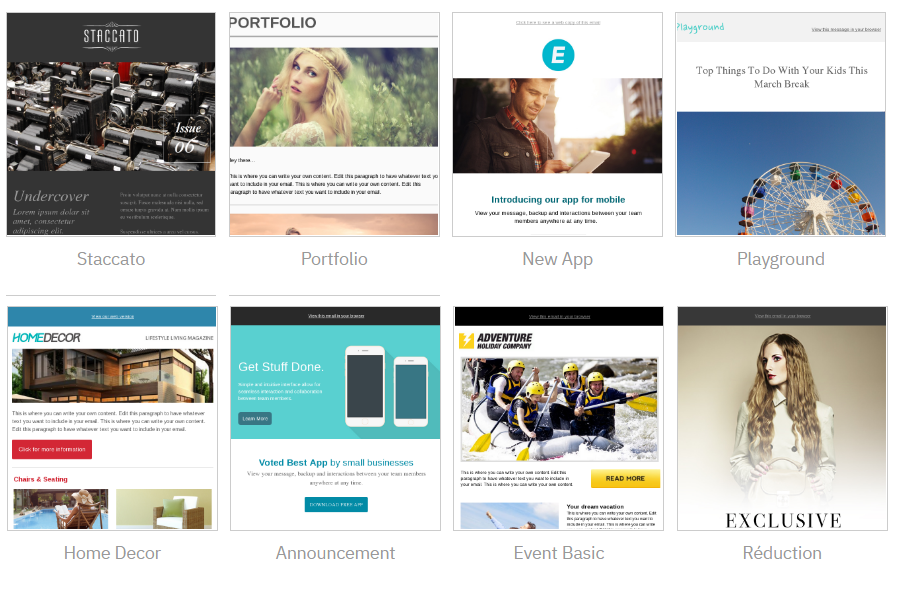 templates email activecampaign