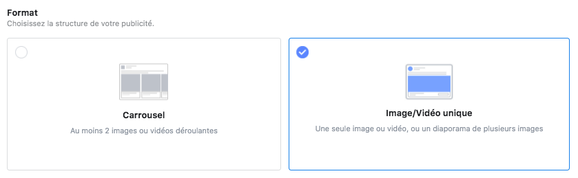format annonce conversions