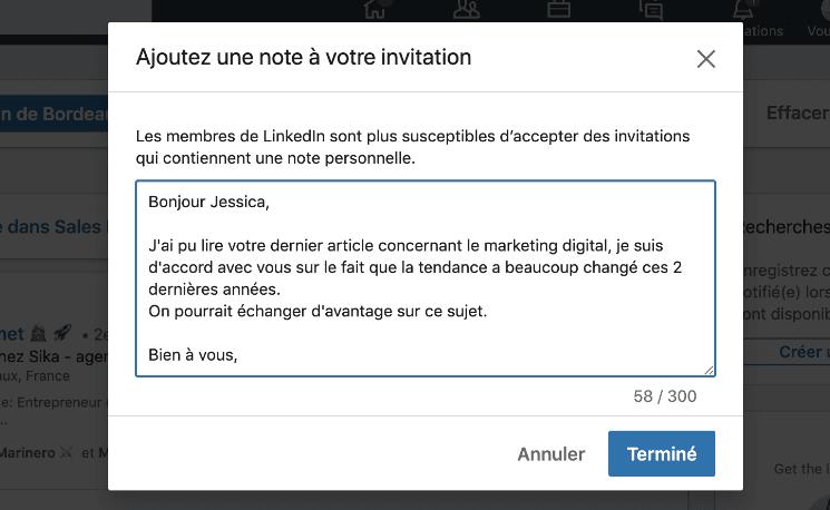 inviter profil linkedin