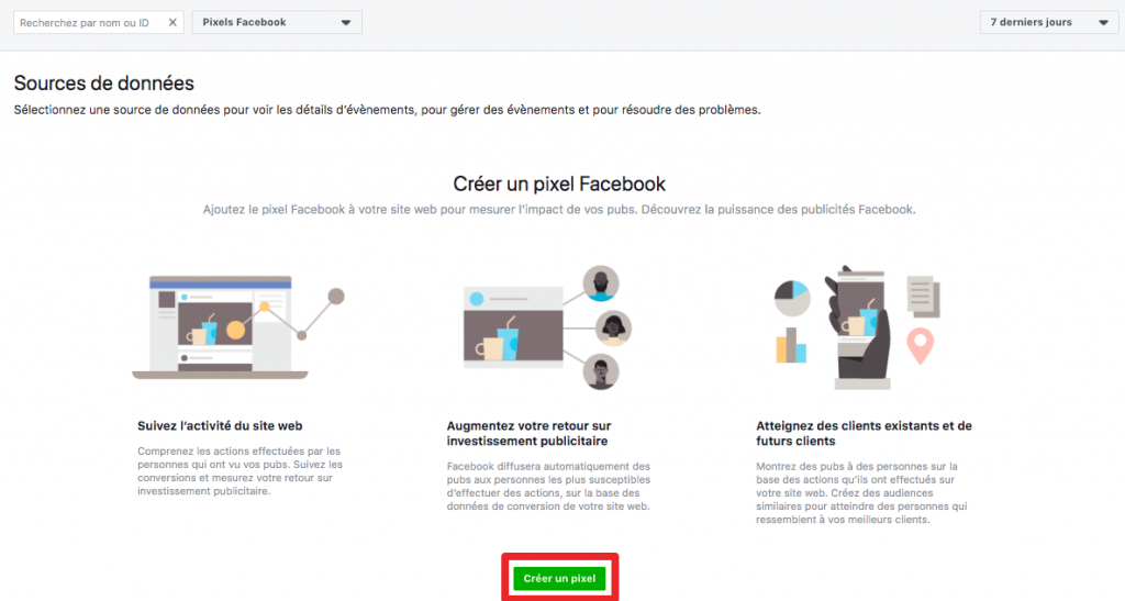 pixel facebook conversions