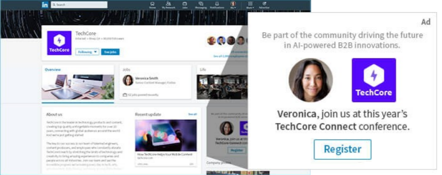 dynamic ads spotlights ads linkedin