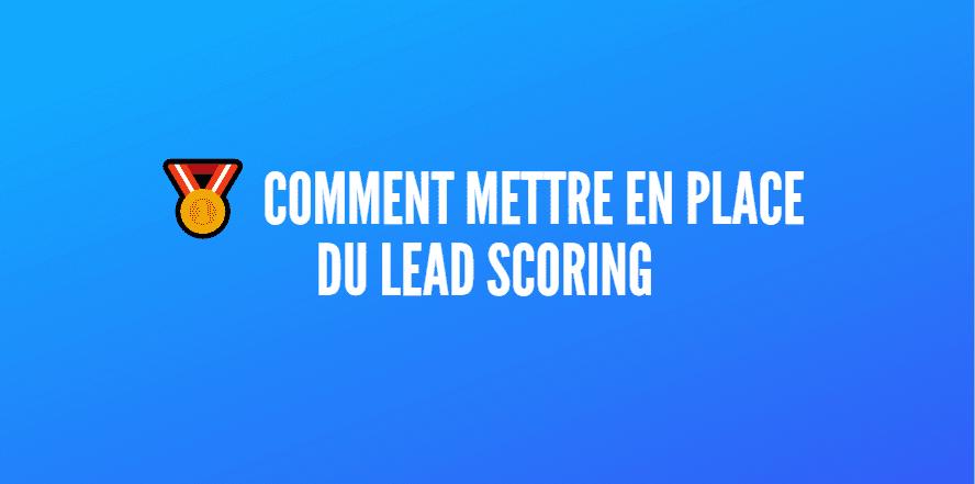 faire lead scoring