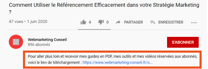 Capturer emails youtube