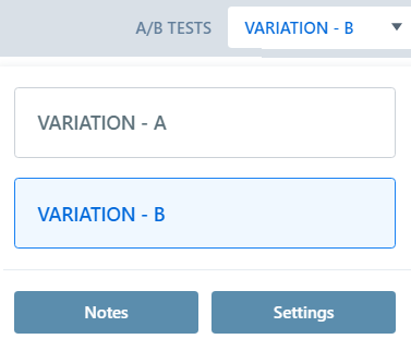 ab-test pop-up