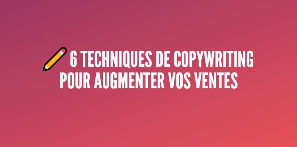techniques copywriting