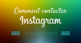 Comment Contacter Instagram ?